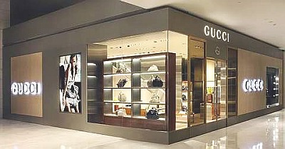 gucci storefront. archives gucci storefront
