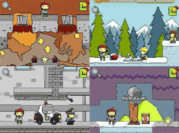 Scribblenauts: Creative writing at its best