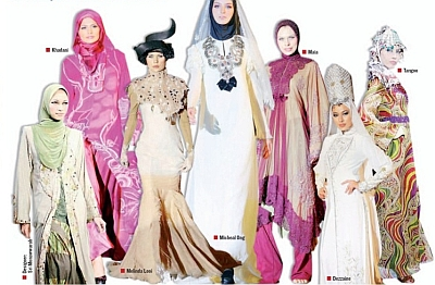 Young Style Model: Fashion Show Featured Islamic Style Works
