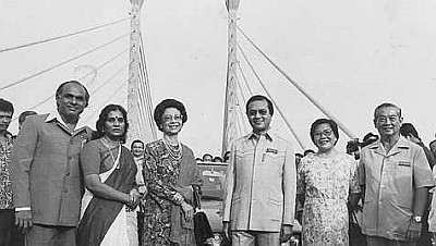 Image result for penang bridge mahathir