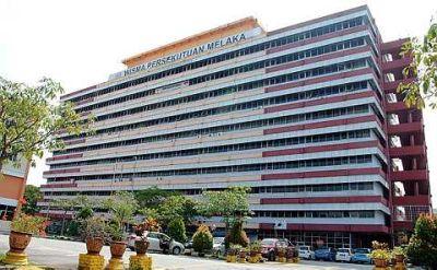 Wisma Persekutuan Melaka The Old Wisma Persekutuan