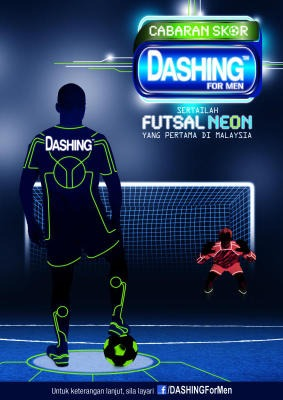 A dash of colour:
