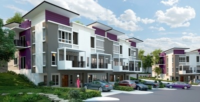 Artist impression of Bandar Saujana Utama residences.