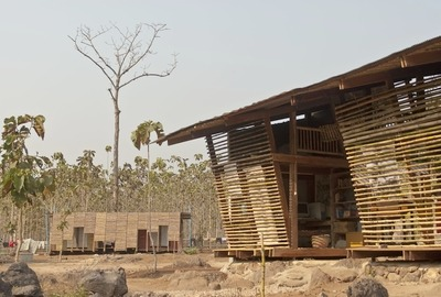 The Safe Haven Library was built with the help of professors and students of the Norwegian University of Technology and Science for refugee orphans at the Thailand-Myanmar border.