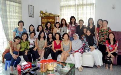 Fun times: The class of '79 during a Chinese New Year gathering at one of the alumni's house at Bukit Antarabangsa, Kuala Lumpur.