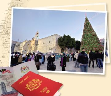 """Reflecting the spirit of the season, the Government has announced the lifting of restrictions on pilgrimages to Israel for Malaysians. With five more days to go before Christmas, Christians around the country have described the announcement as an """"early Christmas gift""""."""