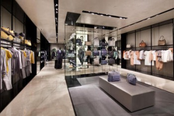 The gallery for --> Armani Exchange Store Interior