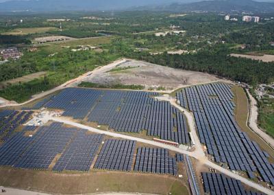 Solar Farm Malaysia The Cypark Solar Farm That