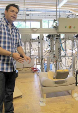 Test Lab manager Mattias