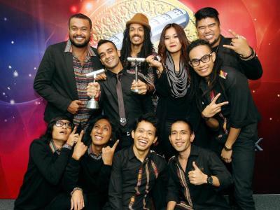 Golden standard: Salammusik now has Anugerah Industri Muzik credentials after picking up the coveted best album award last November.