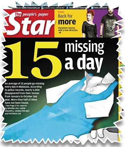 The causes of missing children in malaysia essay