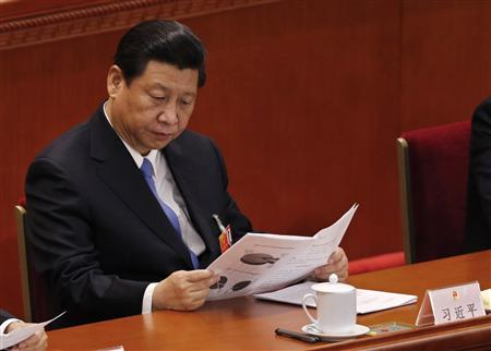 Congress (NPC) in Beijing March 10, 2013. REUTERS/Kim Kyung-Hoon