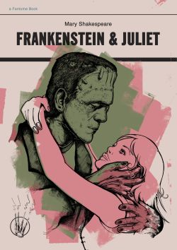 Fantome's mash-up of Frankenstein and Romeo And Juliet is part of the Read Carefully exhibition by Kult Gallery in Singapore.