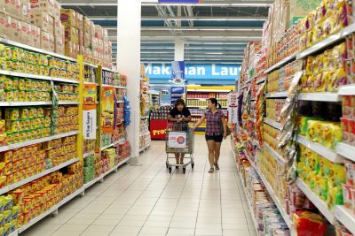 international strategy of giant hypermarket Marketing strategy of malaysia's emerging hypermarket – mydin  international  giants such as carrefour and tesco, mydin is confident.
