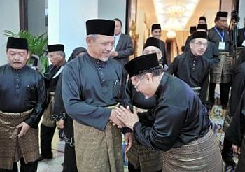 Political transition: Umno is looking forward to a more cordial working relationship with the new Mentri Besar in Kelantan,