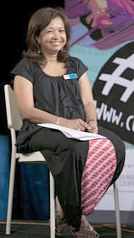 Another participant of the 'Censorship Today' panel, Marina Mahathir, pointed out the dangers of insidious selfcensorship.